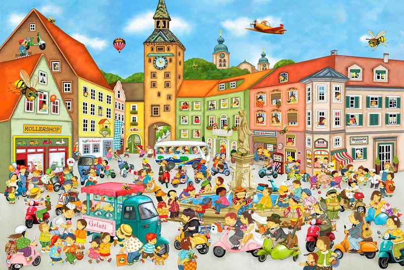 Sommer in der Stadt von Marion Krätschmer