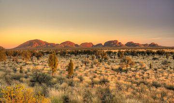 Outback Australien von