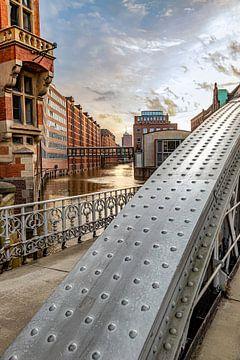 Speicherstadt in Hamburg van Thomas Heitz