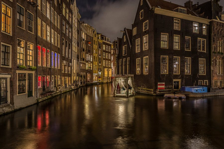 Amsterdam Light Festival - pas encore mon histoire van Joris van Kesteren