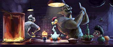 Chickenwussshhhhhh!!! von Rocky Schouten