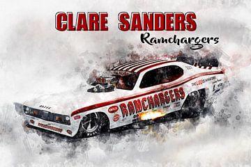 Clare Sanders, Rammenladers met titel van Theodor Decker