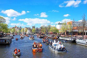 La fête des rois à Amsterdam sur l'Amstel sur Nisangha Masselink