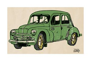 Renault 4 CV van