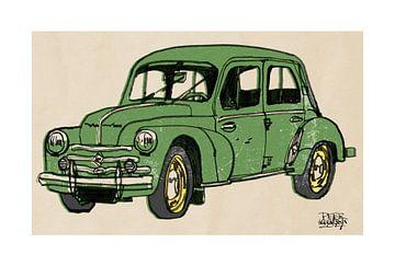 Renault 4 CV sur