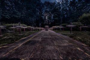 Cemetery van