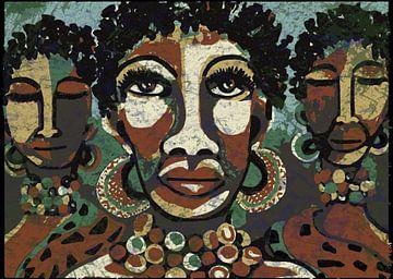 Afrikanische Frauen von Rudy & Gisela Schlechter