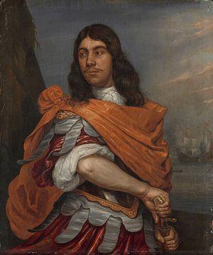 Portrait des Cornelis Tromp in römischen Kleidung, Abraham Evertsz van Westerveld