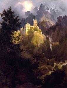Karl Eduard Biermann- Das Kloster Burgis in Tirol