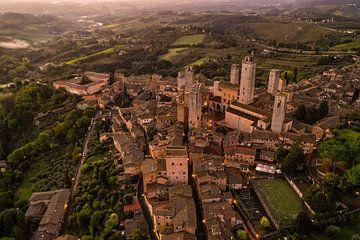 San Gimignano aus der Luft von Denis Feiner