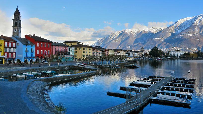 Ascona - Ticino - Zwitserland van Felina Photography