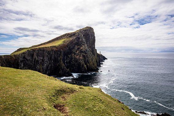 Isle of Skye: Neist point vuurtoren van Remco Bosshard