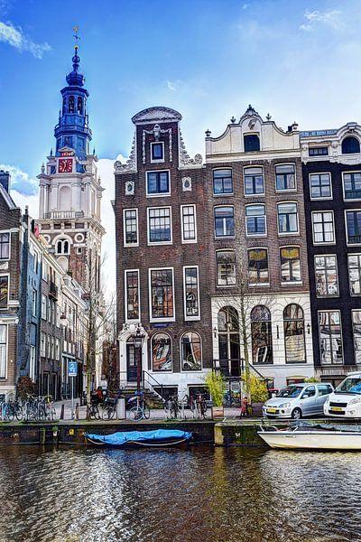 Zuiderkerk Amsterdam Winter van Hendrik-Jan Kornelis