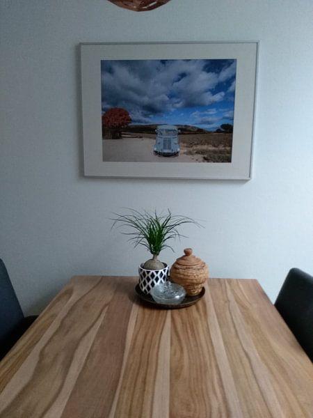 Photo de nos clients: Oldtimer in Frans landschap sur Rosanne Langenberg, sur poster