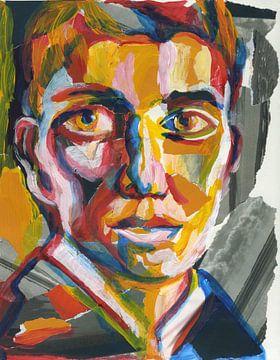 Portret van een man van ART Eva Maria