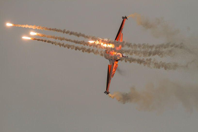 Nederlandse F16 flares van Erwin Stevens
