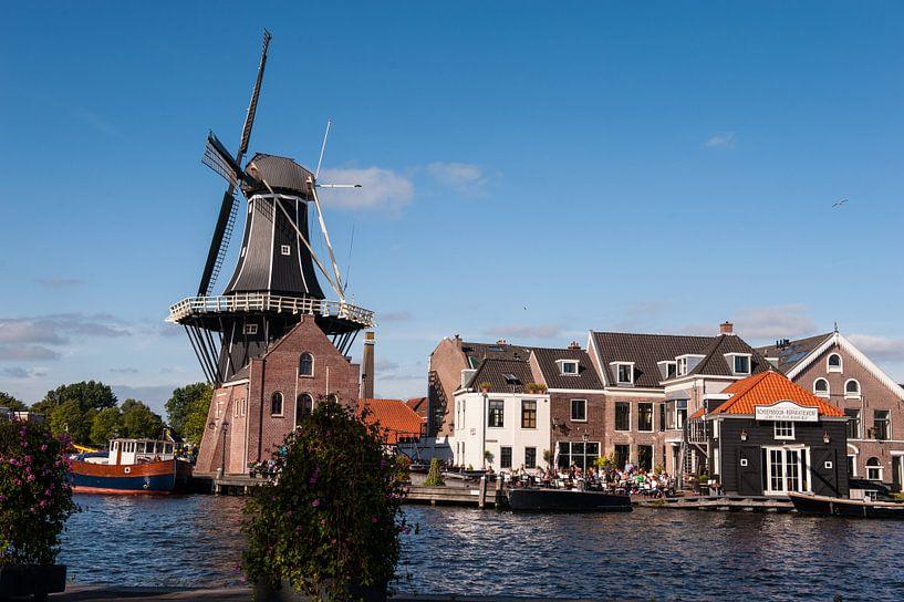 "A Windmill in the City ""Adriaan"" van Brian Morgan"