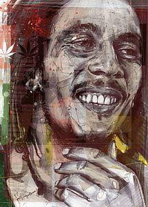 Abbildung von Bob Marley