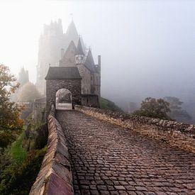 Mistige ochtend bij Burg Eltz von Roy Poots