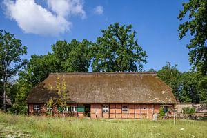 Historisches Bauernhaus, Wilsede, Lüneburger Heide, Niedersachsen, Deutschland von Torsten Krüger