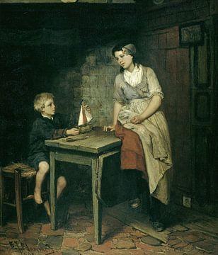 Die Kinder des Fischers, Bernardus Johannes Blommers von Meesterlijcke Meesters