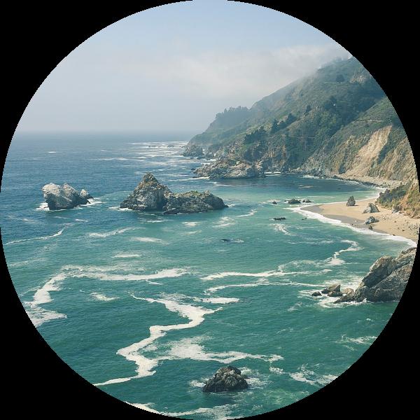 Big Sur Kalifornien von Jasper van der Meij