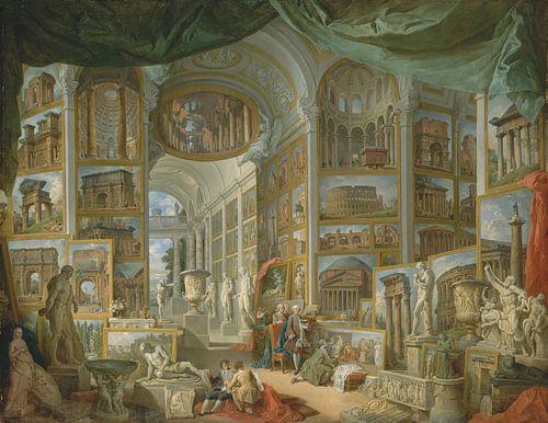Het oude Rome, Giovanni Paolo Panini van Meesterlijcke Meesters
