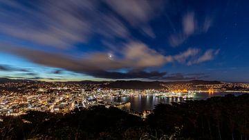 Wellington City Lights (NZ North Island) sur Pascal Sigrist - Landscape Photography