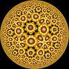 Glow Zonnebloemen van Tis Veugen thumbnail