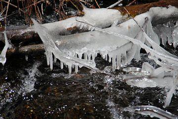 Frozen River van Cornelis (Cees) Cornelissen