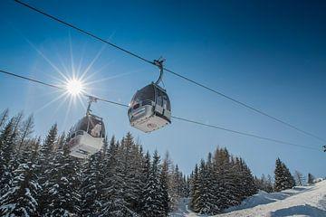Skilift Oosterrijk von Edwin Sonneveld