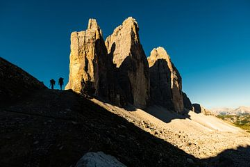 Tre Cime. Drie adembenemende  bergtoppen in de Dolomieten