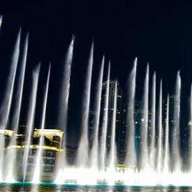 The Dubai Fountain, Burj Khalifa - Dubai von Van Oostrum Photography