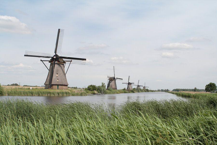 Molens Kinderdijk van Ronald Jansen