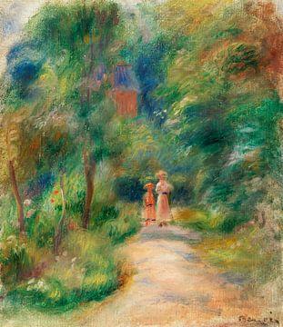 Renoir, Zwei Figuren auf einem Weg (1906)