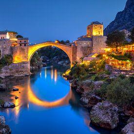 Mostar, Bosnien-Herzegowina von Adelheid Smitt