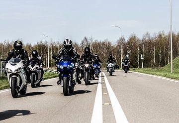 Motorcycle crew holland van Westland Op Wielen