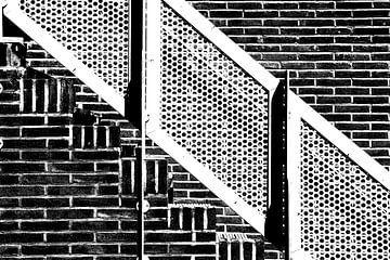 Ziegelsteintreppenhauses  von Carel van der Lippe