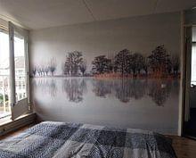 Klantfoto: sound of silence van Annemieke van der Wiel, als behang