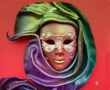 Maske von Thea Ulrich / UtheasArt