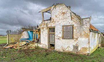 Eiland Texel bouwvallige boerderij van Willem Visser