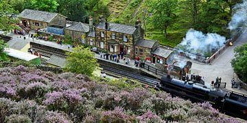 North Yorkshire Moors Railway van Gisela Scheffbuch