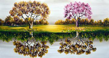 Landscape von Gena Theheartofart