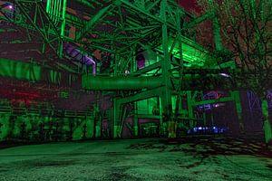 Industrie bei Nacht von bert erven