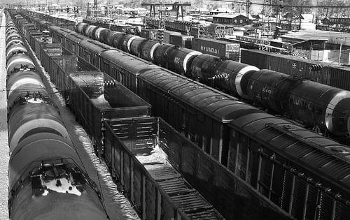 Bahn-Linien von Floris den Ouden
