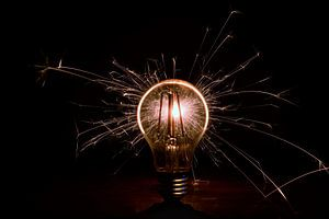 Lichtspiel Lampe von Ramona Peter