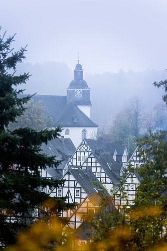Herfst in Freudenburg van