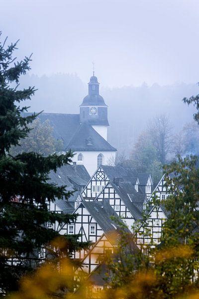 Herfst in Freudenburg van Jesse Barendregt