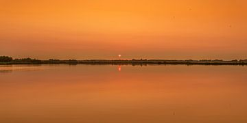 Coucher de soleil au Sondeler Leien à Gaasterland-Friesland