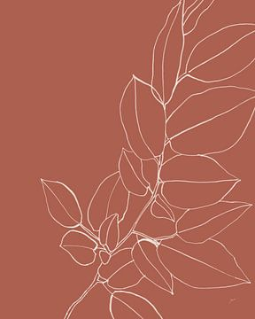Warm Magnolia Branch II, Karyn Panganiban van Wild Apple